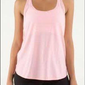 Lululemon pink singlet tank top